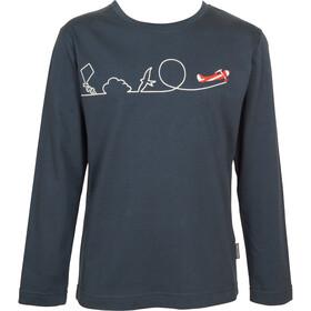 Elkline Himmelhoch - T-shirt manches longues Enfant - bleu